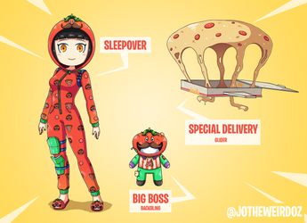 Fortnite Fan Skin: Sleepover by JoTheWeirdo