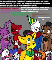 Ask FNAF Comic Pt.44 by Blustreakgirl