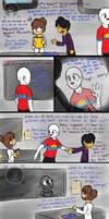 Tainted Visit (FNAF Comic Short) by Blustreakgirl