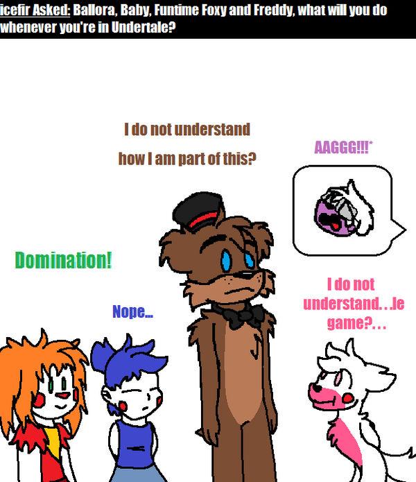 Ask Fnaf Babies: Ask FNAF Comic Pt.178 By Blustreakgirl On DeviantArt
