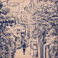 Urban Solitude IV by rawimage