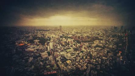 Tokyo Skyline II by rawimage
