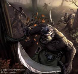 Orc Ambush by isso09