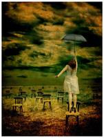 Flying Umbrella by Emindeath