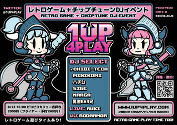 1UP4PLAY by mandichan
