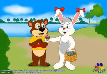 Happy Easter Friends!!!! :D by AntoninoCanino124