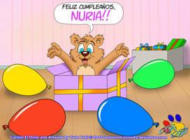 Happy Birthday, Nuria!! by AntoninoCanino124