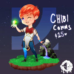 [COMM] Color Chibi Sample by Elite-Kit-of-Chaos