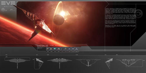 EVE Online - Daedalus by SamODJ