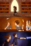 Nelly's Adventures in Hogwarts by YaneYing