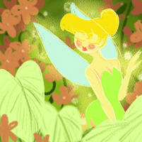 A Very Mary Blair Tink by YaneYing