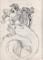 Mermaid by llewllaw