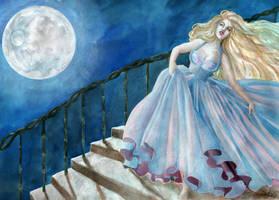 Cinderella by llewllaw