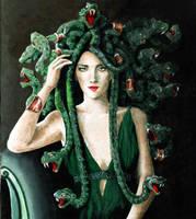 Medusa by llewllaw