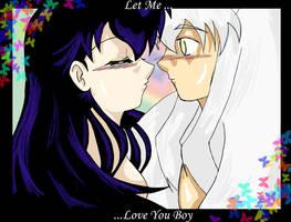 +.Let.Me....+colored by kikyos-soul08