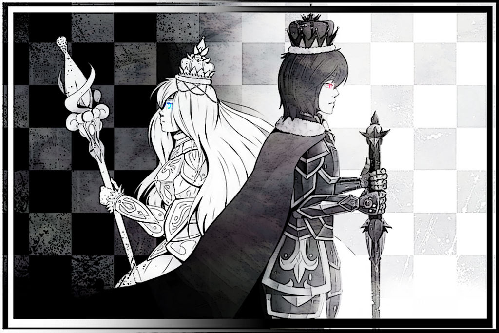 Black King White Queen By Hyo San Desu On Deviantart
