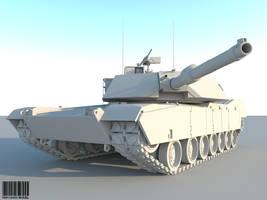 M1 Abrams by kaoz70