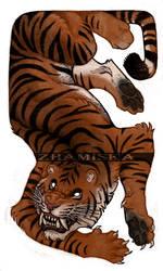 Espiritu del Tigre by Zhamiska