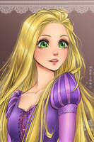 Rapunzel by Mari945