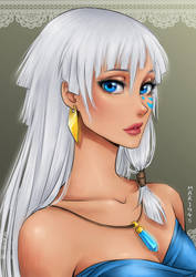 Princess Kida of Atlantis by Mari945
