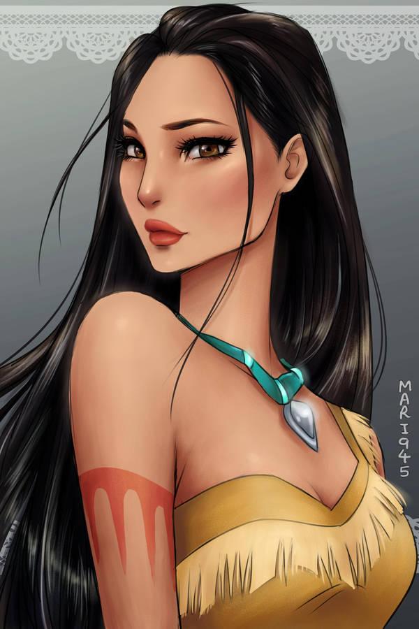 Pocahontas by Mari945