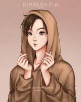 Kim SeokJin - BTS by Mari945