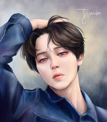 Jimin - LOVE YOURSELF: Tear by Mari945