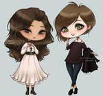 Amalia and Valesa by Mari945