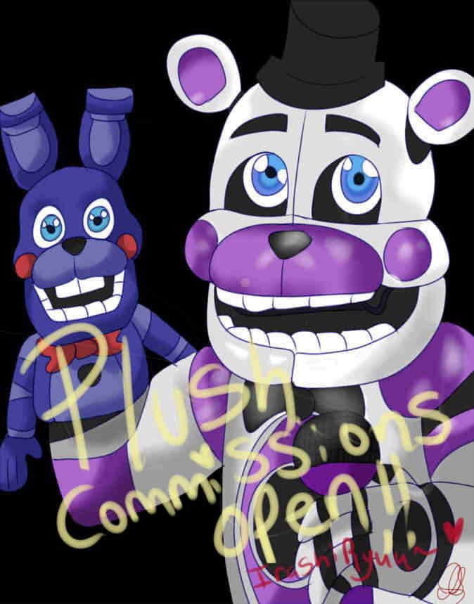 Plush Commissions Are Open ! by IrashiRyuu
