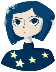 Coraline (merch available) by kassyfox