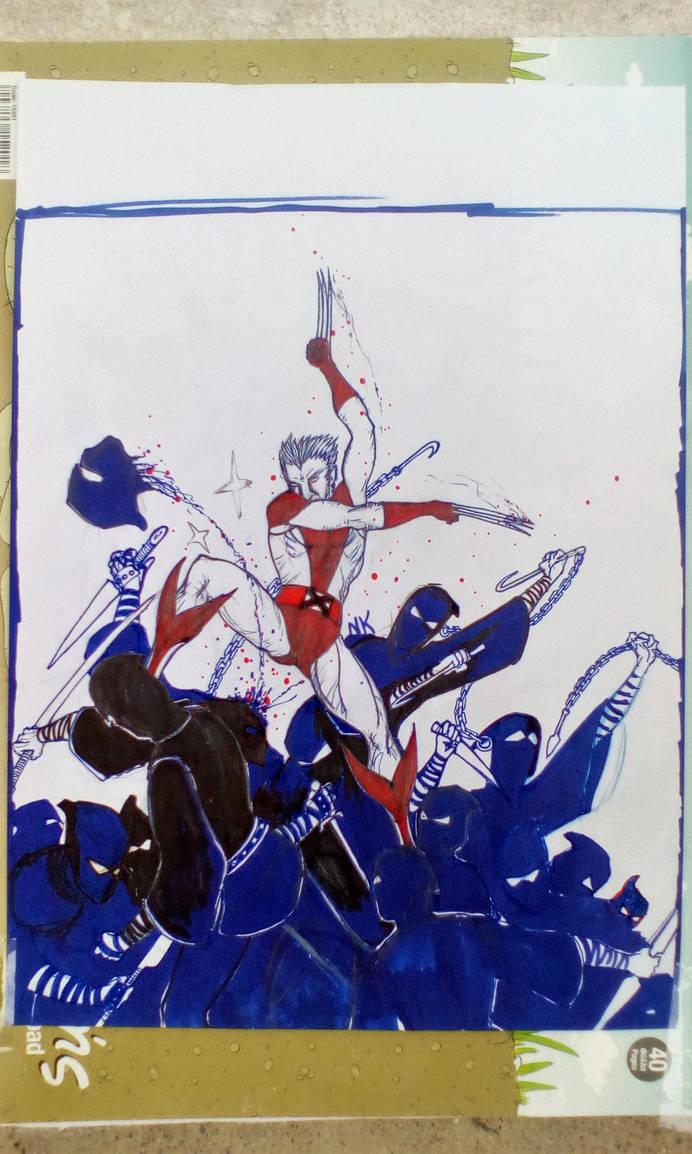 Wolverine doodle 3 by nikoskap