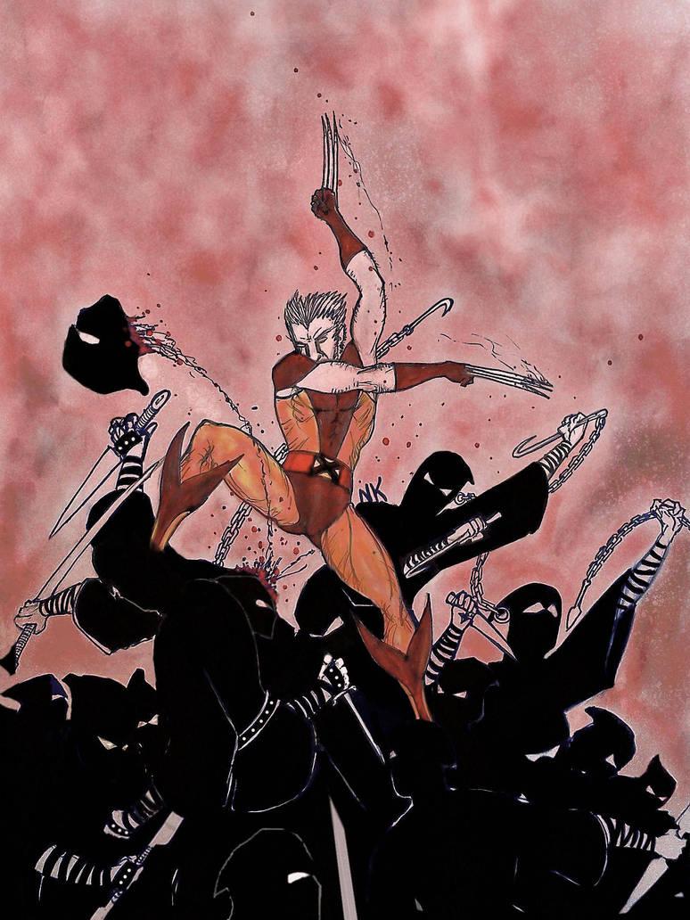 Wolverine doodle 2 by nikoskap