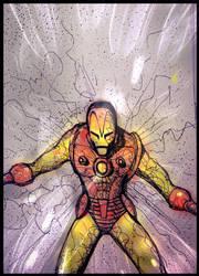 Classic Ironman doodle by nikoskap