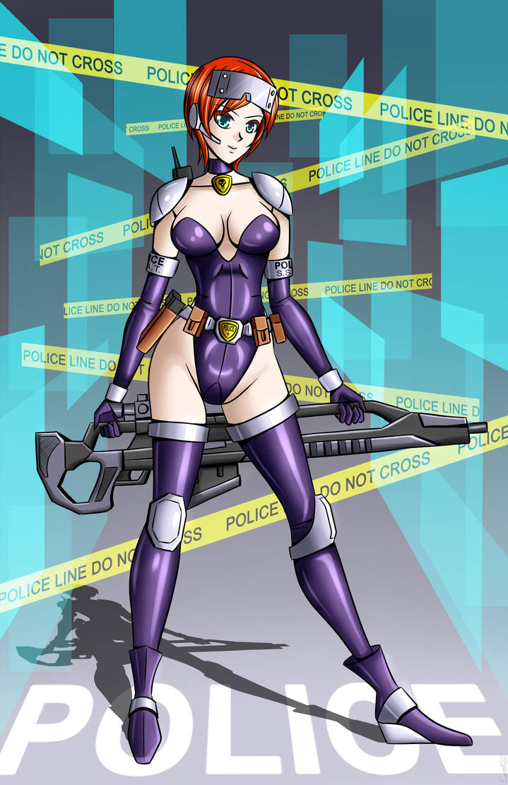 Sci Fi Police by carrot25