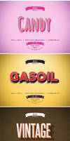 Retro Vintage Text Effects by absolut2305