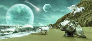Life on Neptune by Charlene-Art