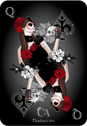 Queen of Spades by Charlene-Art