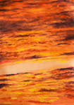 Sunset Clouds Texture 2 by Charlene-Art