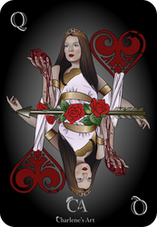 Queen of Hearts by Charlene-Art