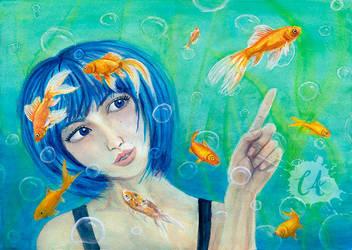 Fish Eye by Charlene-Art