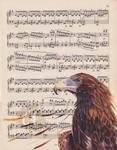Wedge-Tailed Eagle by Charlene-Art