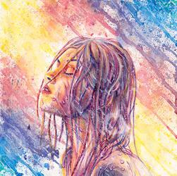 Let the Rain by Charlene-Art