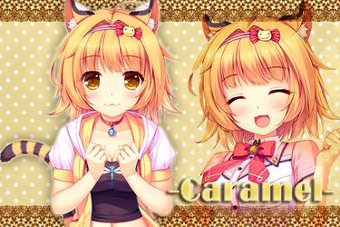 NEKOPARA - Caramel Wallpaper by Seira-Hirano