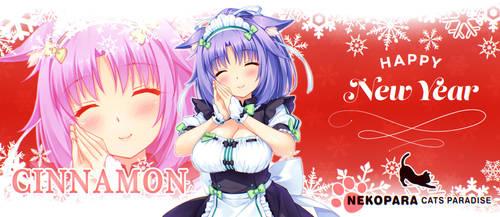 NEKOPARA - CINNAMON (New Year Version) by Seira-Hirano
