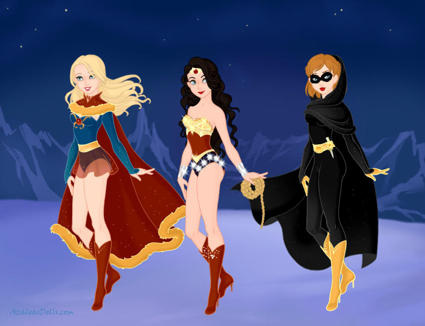 Female Superheroes, Snow Queen Edition By Lyndsiek2009 On -1177