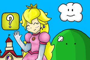 Princess Peach by Galway