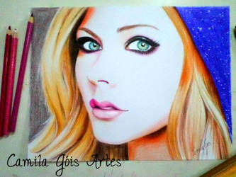 Avril Lavigne by happinessfull