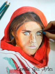 Afghan Girl by happinessfull