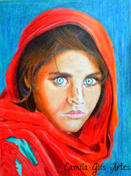 Afghan Girl 2 by happinessfull
