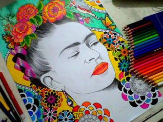 Frida Kahlo 2 by happinessfull